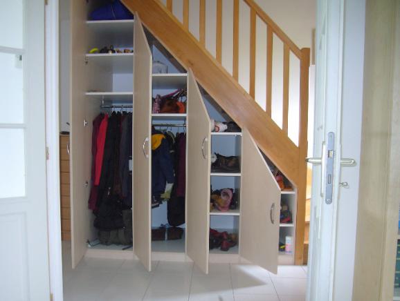 aménagement sous escalier  Idées sous escalier  Pinterest
