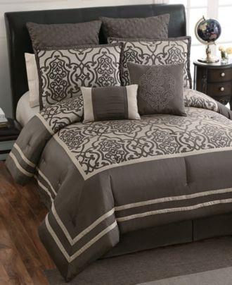 Adahlia 8 Piece Comforter Sets - Macy\'s | Bedroom Redo | Pinterest ...