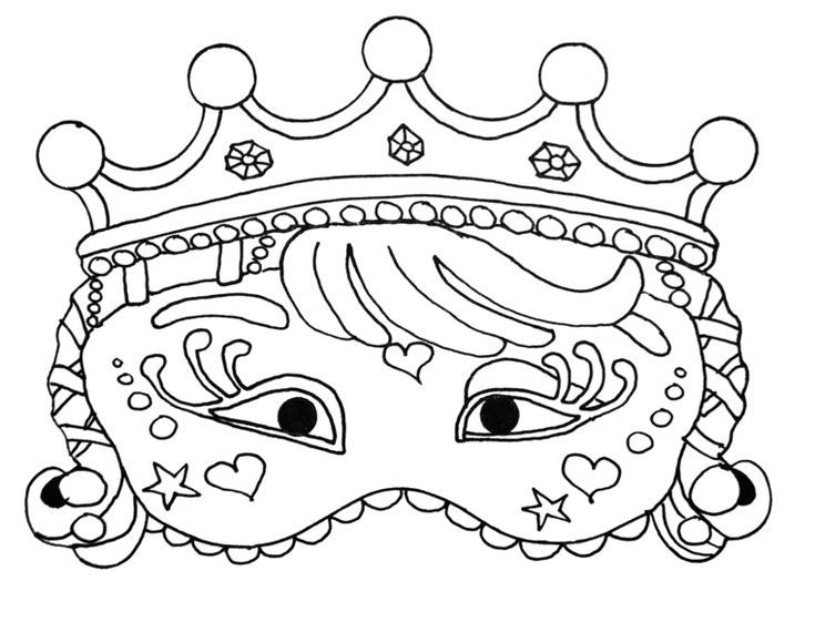 Maschere Da Colorare Maschera Per Bambini Disegno Della Corona Da Colorare Disegni Bambini Colorare Corona Del Disegni Da Colorare Disegni Maschera