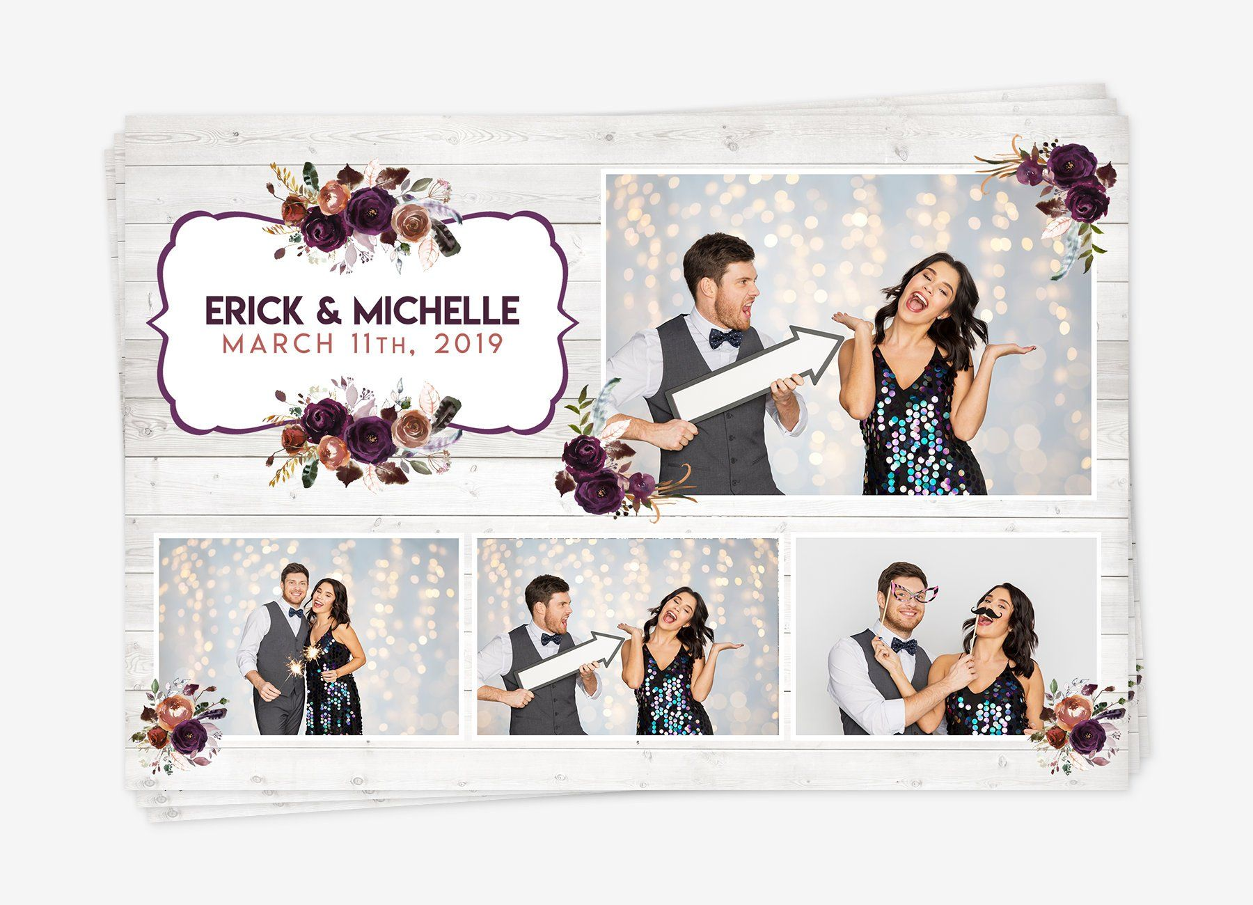 Photobooth Save The Date Card Template Free Greetings Island Photo Booth Save The Date Templates Save The Date Cards