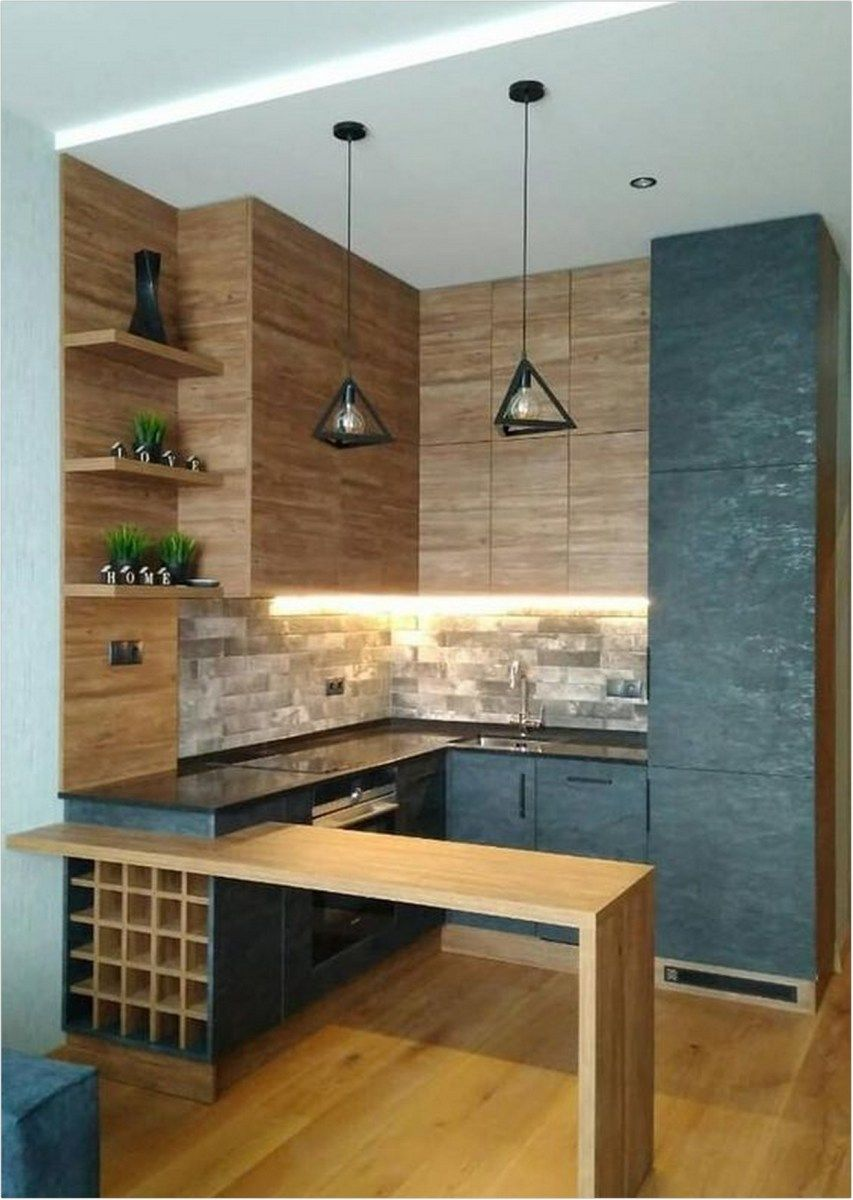 50+ simple and modern style kitchen design for small kitchen decorating ideas or kitchen remodel (7) « Dreamsscape #smallkitchendecoratingideas