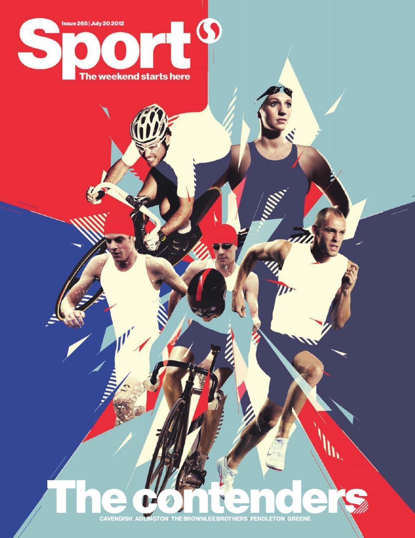 Sport magazine Issue 265 Sports graphic design, Sports
