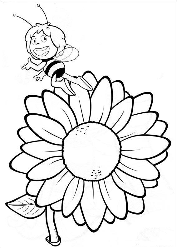 Dibujos Para Colorear Abeja Maya 16 Ausmalbilder Ausmalen Ausmalbilder Kinder