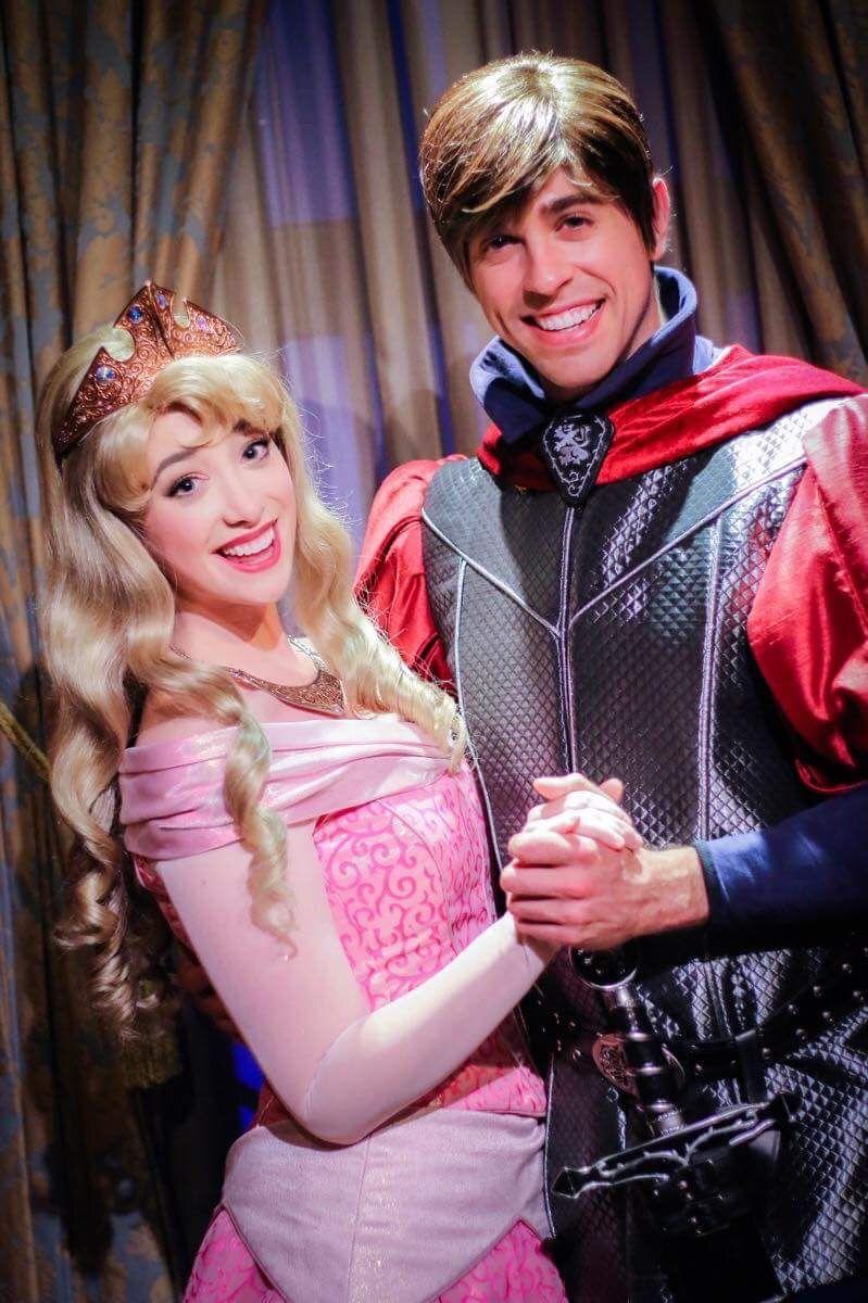 Princess Aurora and Prince Phillip, Walt Disney World Face Character