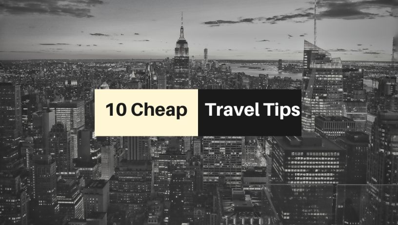 10 Tips for Cheap Travel Cheap travel, Finance, Personal