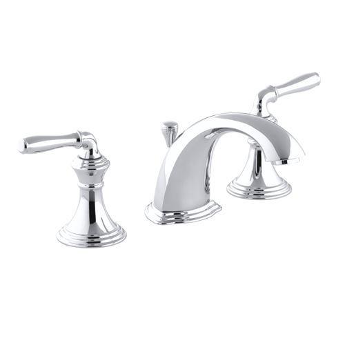 Kohler K 394 4 Devonshire Widespread Bathroom Faucet Widespread