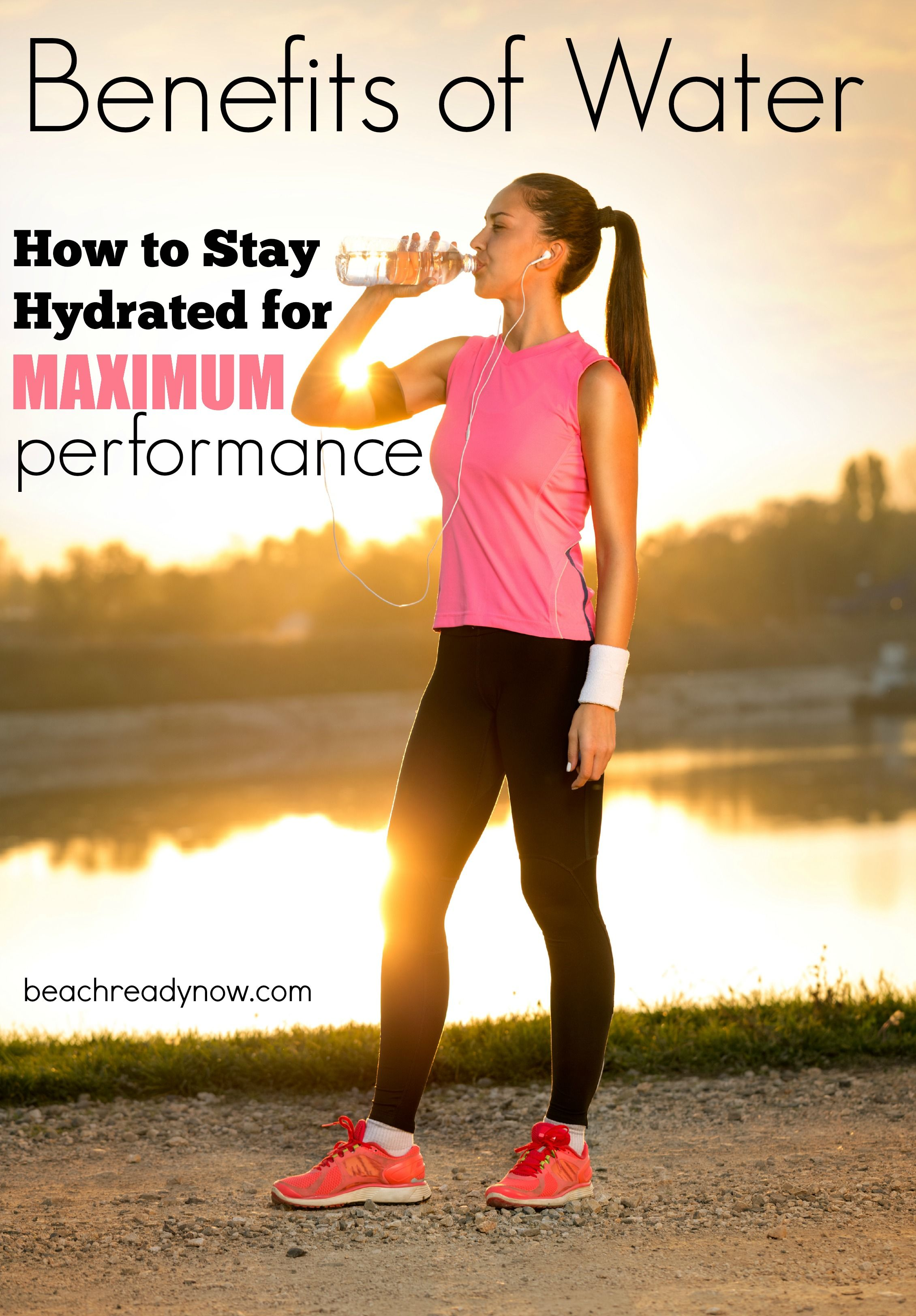 How to stay hydrated for maximum performance workout