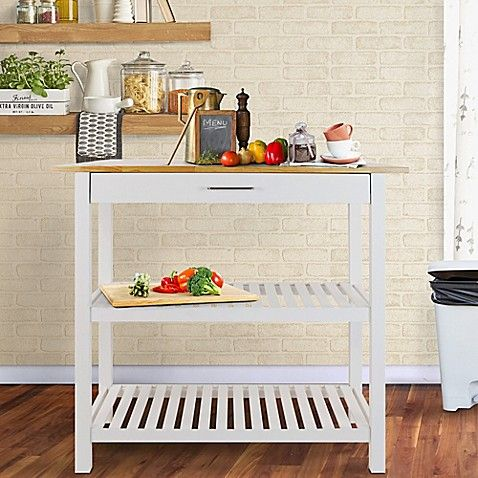 Best Casual Home Kitchen Island In White Home Kitchens Wood 400 x 300