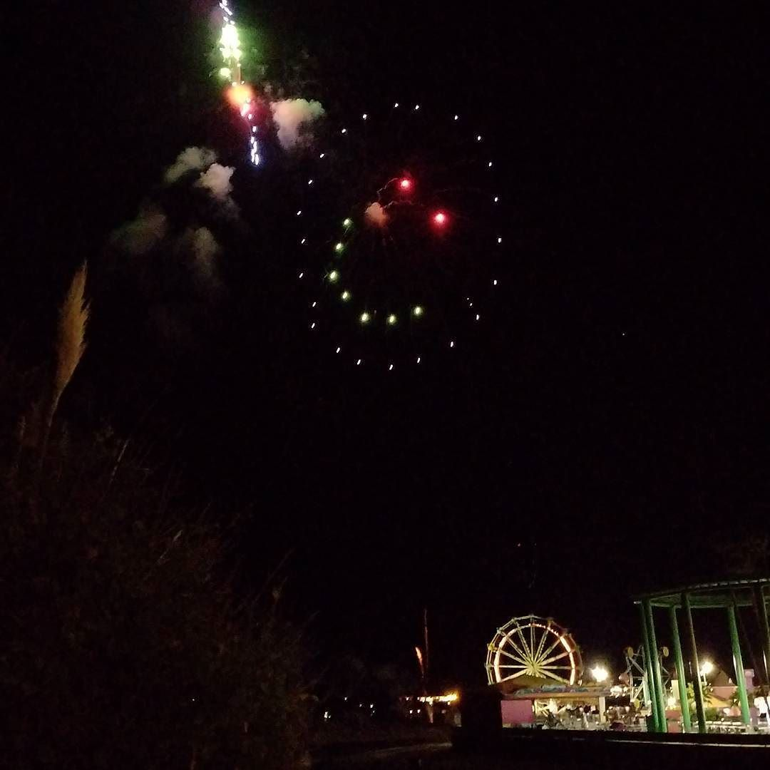 Happy 150th #birthday City of #santacruz! The #fireworks were great at the #beachboardwalk!