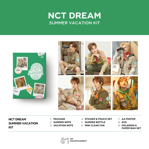 2019 nct dream summer vacation kit | Kpop | Order photos