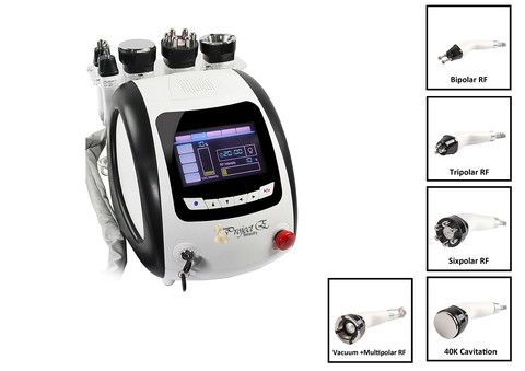 MULTIFUNCTION CAVITATION MULTIPOLAR RF CELLULITE REMOVAL DISSOLVE FAT FIRMING MACHINE