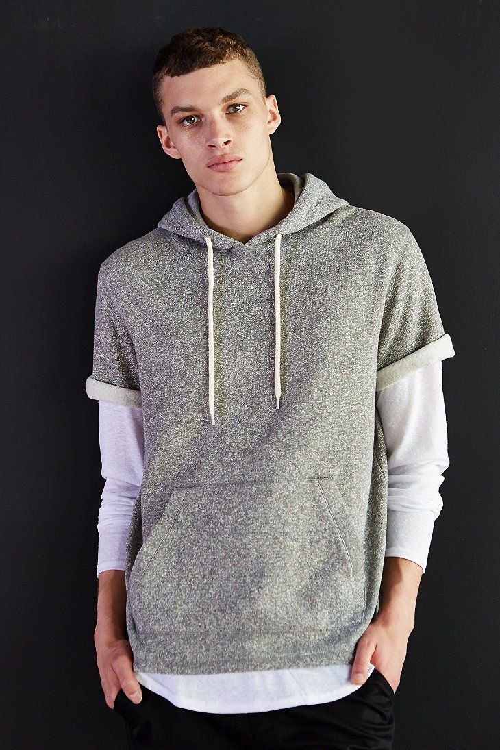sleeves Pullover Sweatshirt Urban wear