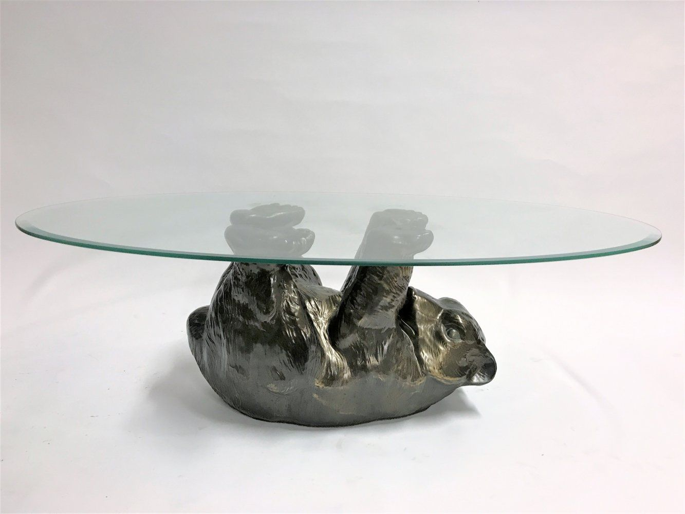 For Sale Unique Sculptural Black Bear Coffee Table 1970s Met