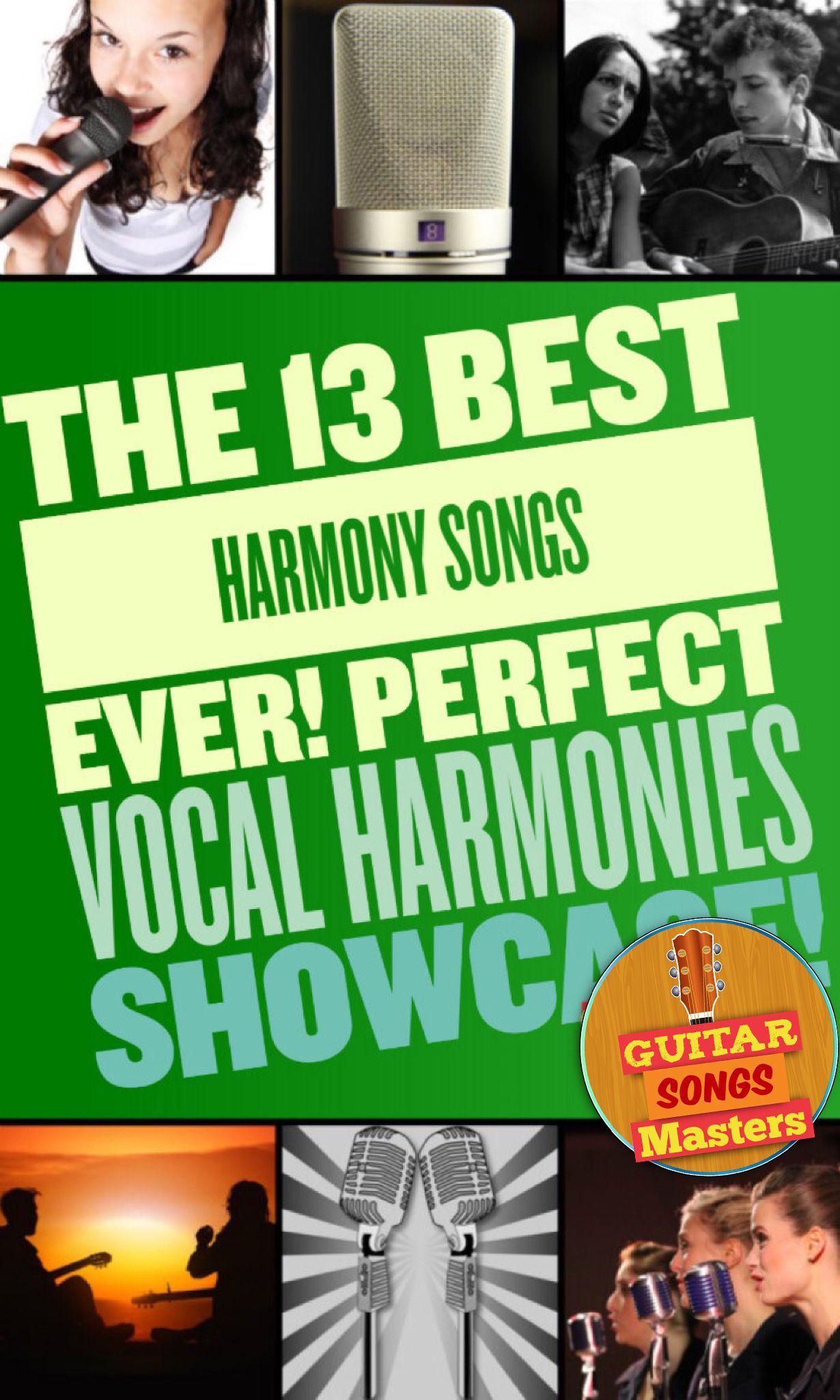 13 Best Harmony Songs Guitar Songs Masters Harmony Songs Guitar Songs Songs