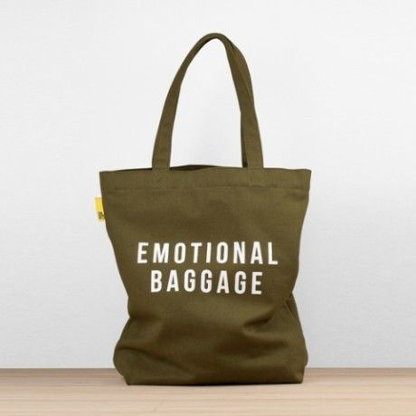 The School Of Life The School Of Life Emotional Baggage Tote - Trouva