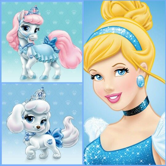 Cinderella With Bibbidy Pony Pumpkin Puppy Disney Palace Pets Disney Princess Pets Disney Princess Palace Pets Disney Princess Cinderella