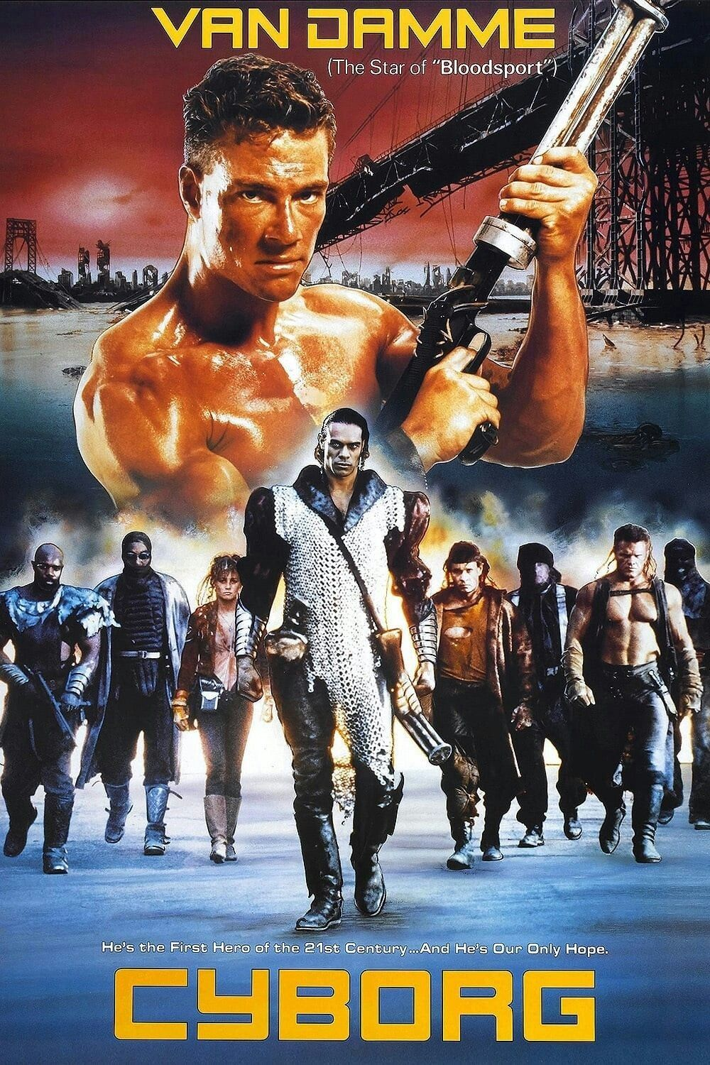 Pin By Steve D Bates On All Time Fave Movies Cyborg Movie Cannon Film Movie Posters