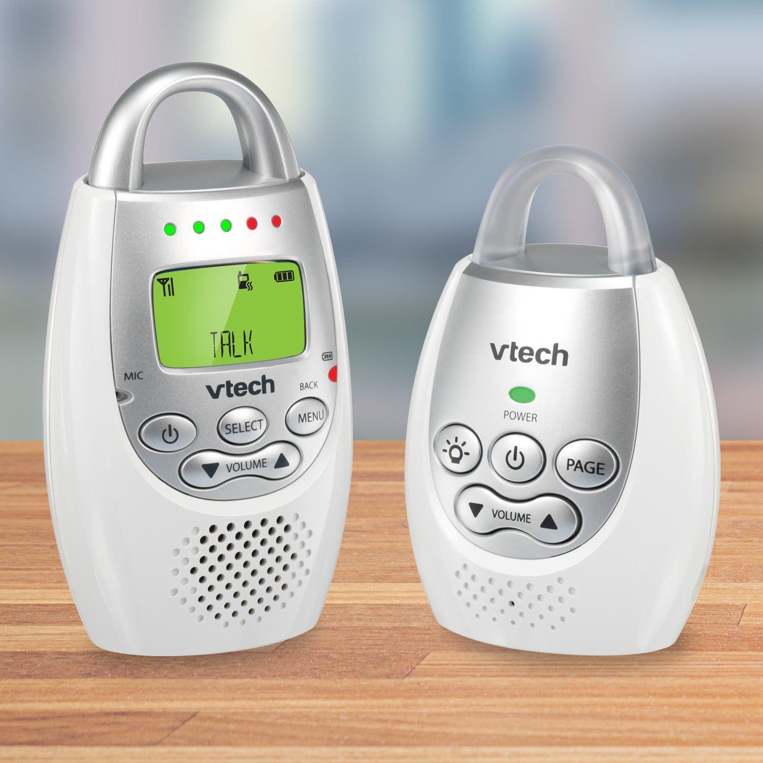 VTech DM221 Audio Baby Monitor with up to 1,000 ft of Range Vibrating