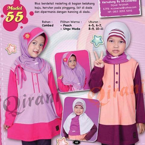 Kombinasi Baju Warna Ungu Dengan Jilbab