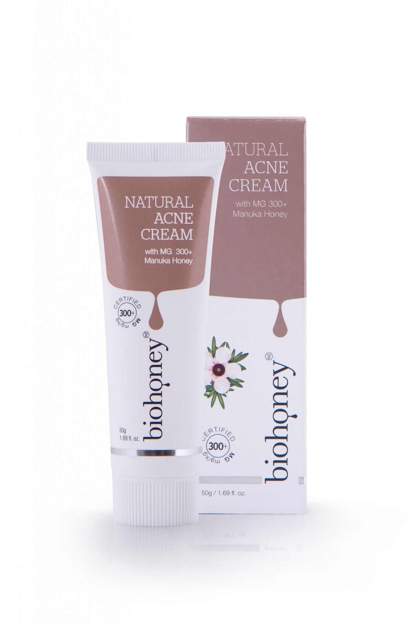 Natural Acne Cream 50g Acne cream, Manuka honey skincare