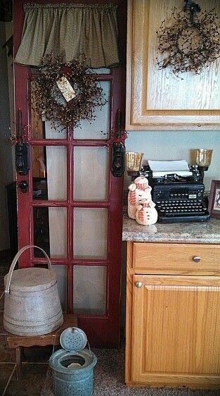 Primitive door decor one in stock! & Primitive door decor one in stock! https://www.facebook.com ...