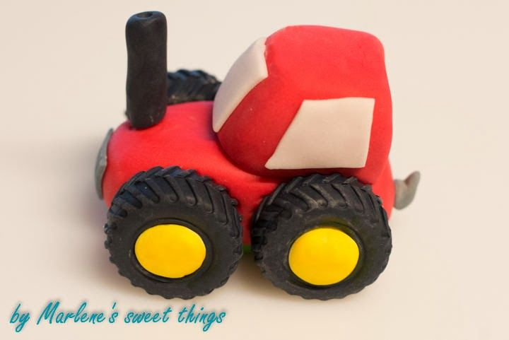 Traktor Torte Torte Farm Yard