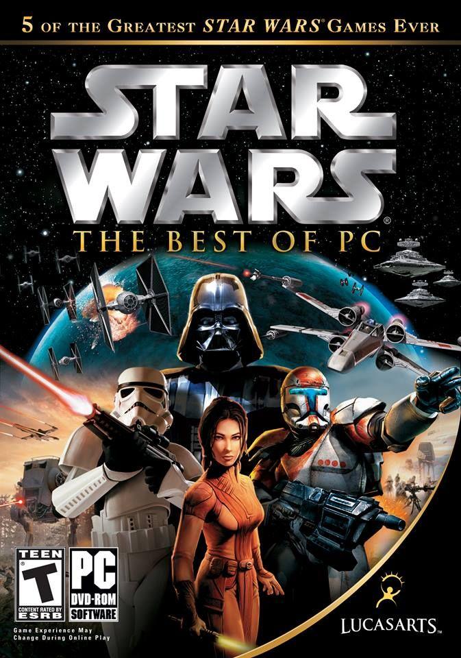 Star Wars The Best Of PC Star wars games, Star wars