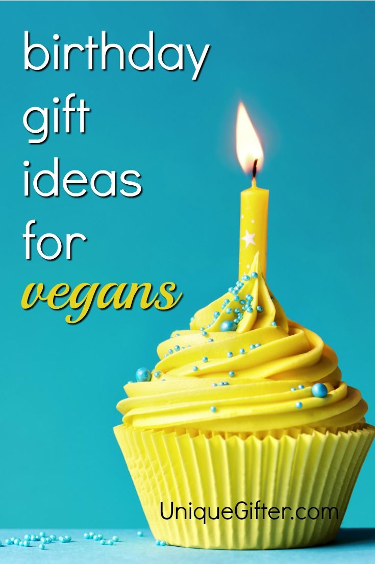 Trying To Figure Out How Say Happy Birthday A Vegan One Of These Gifts Is Exactly What They Want