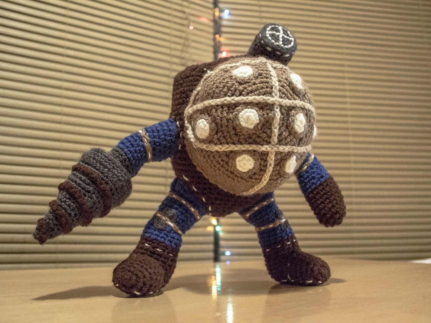 Crochet Amigurumi Bioshock Big Daddy Doll