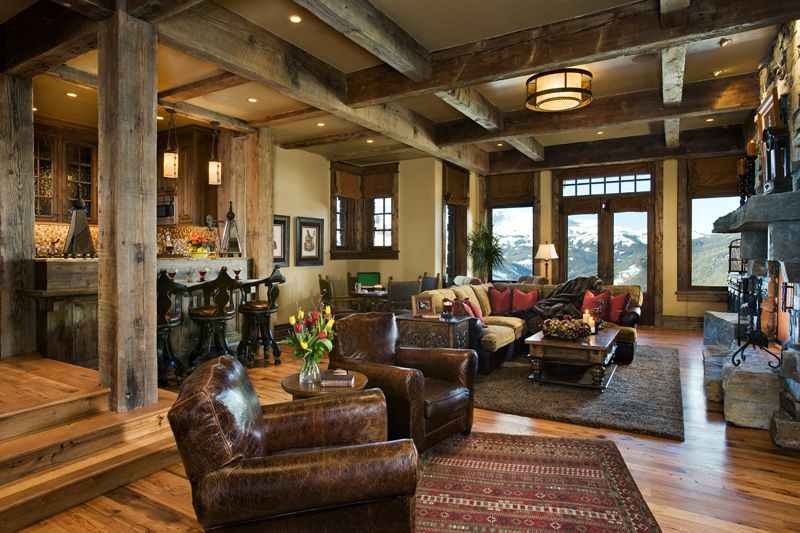 Open Country Rustic Room By Jerry Locati On Homeportfolio