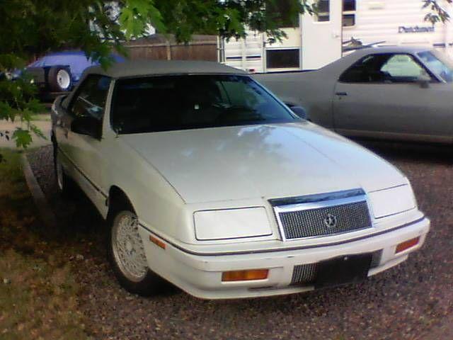 1990 Lebaron Gtc Turbo Convertible Must Sell Convertible Car