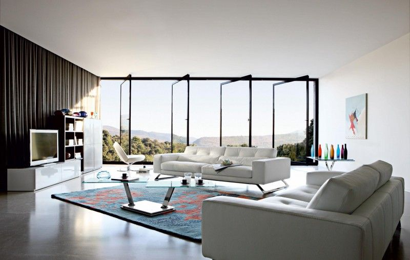 20 Modern Living Room Interior Design Ideas Modern living rooms - wohnzimmer ideen braune couch