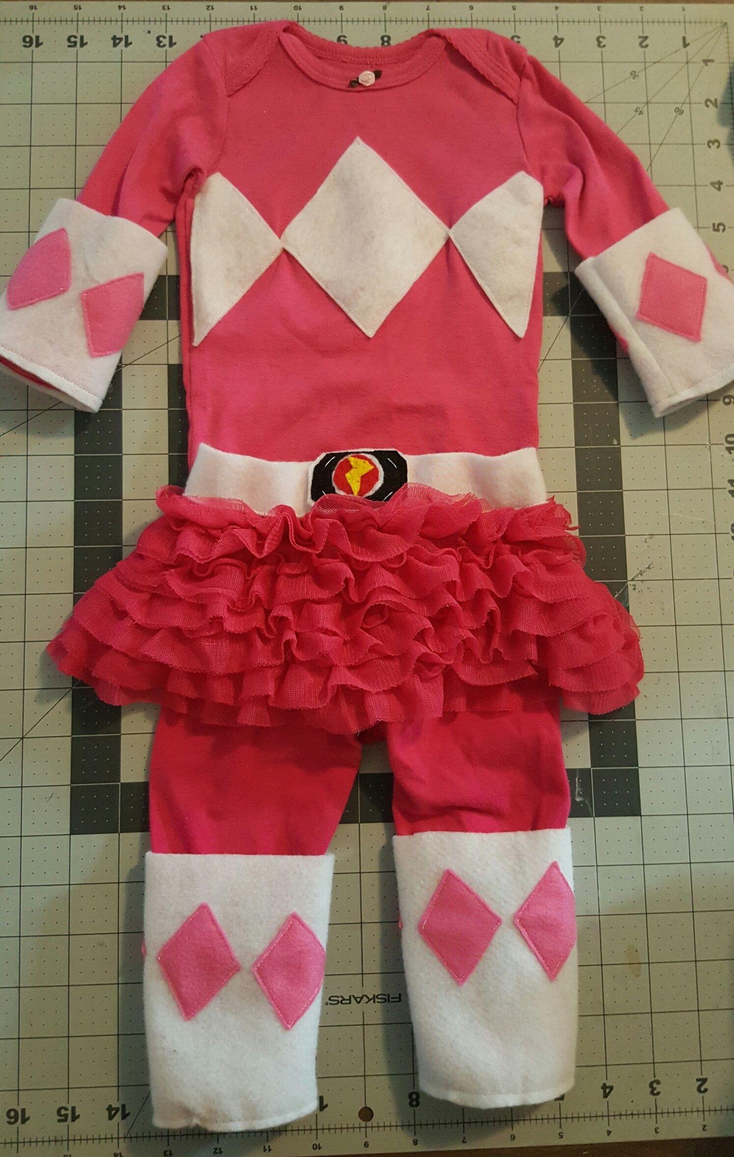 1945d45cc1 DIY Baby Pink Ranger Costume – MyLilyBelleLife