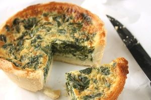 The Ultimate Appetizer - Spinach Quiche