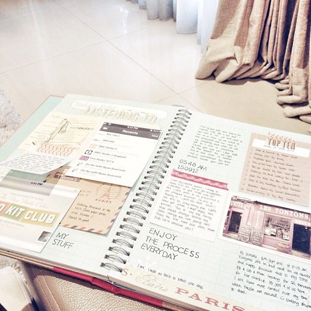 Mostly Journalling Thoughts On Smashbook Lately Scrapbook Projectlife Smash Book By Blinksoflife