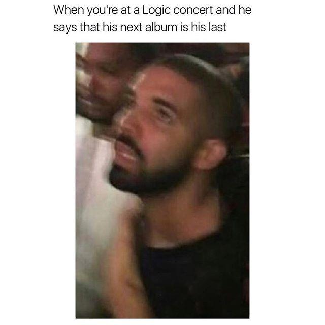 Quit Playin Like That Logic301 Rattpack Logic301 Credit Typicalterome Logic Rapper Logic Memes Logic Concert