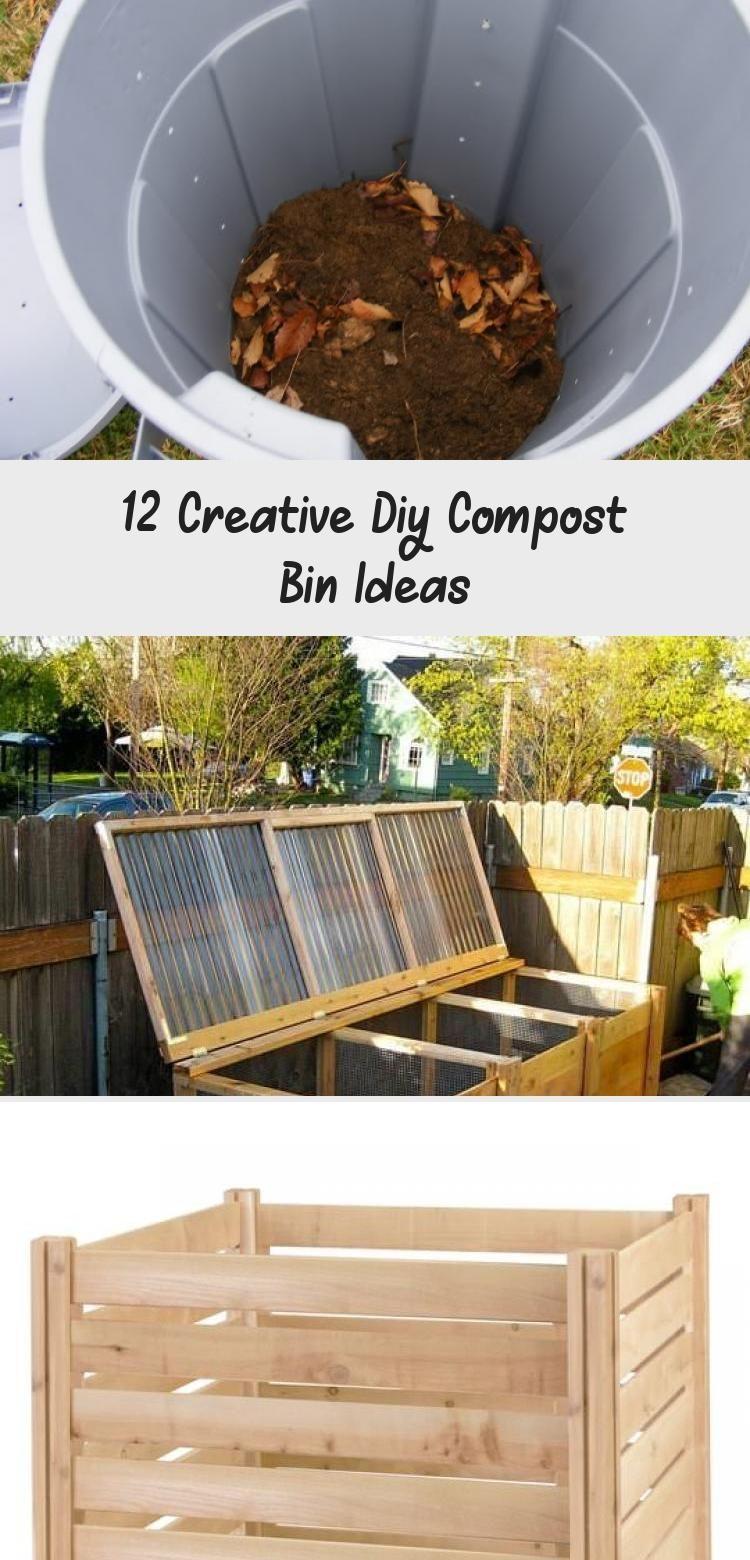 12 Creative Diy Compost Bin Ideas Diy In 2020 Diy Compost Compost Bin Diy Compost Bin Diy backyard compost bin