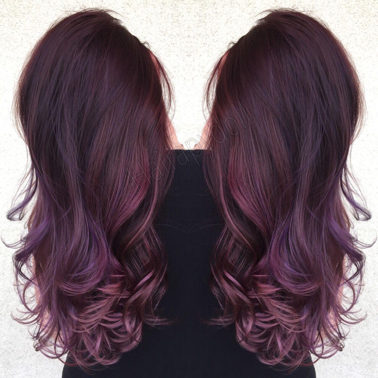предпочитают цвет волос аметист фото это небольшое
