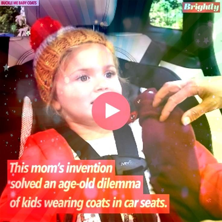 invention solves ageold dilemma of kids wearing coats in car seats Moms invention solves ageold dilemma of kids wearing coats in car seats Moms invention solves ageold di...