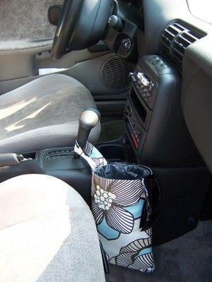 botega criativa: Lixeiras fashion para o carro, by Allison Hill