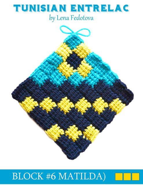 Pin von Catherine Rifkin auf Tunisian Crochet | Pinterest