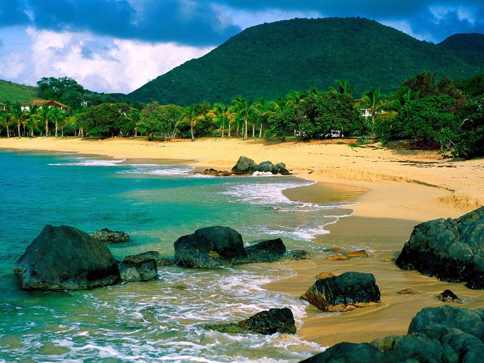 Shore Of St Martin Bangladesh Beach Caribbean Beaches