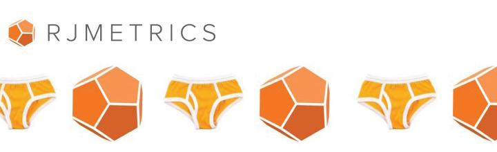 RJ Metrics: What do you do when your logo looks like underwear?