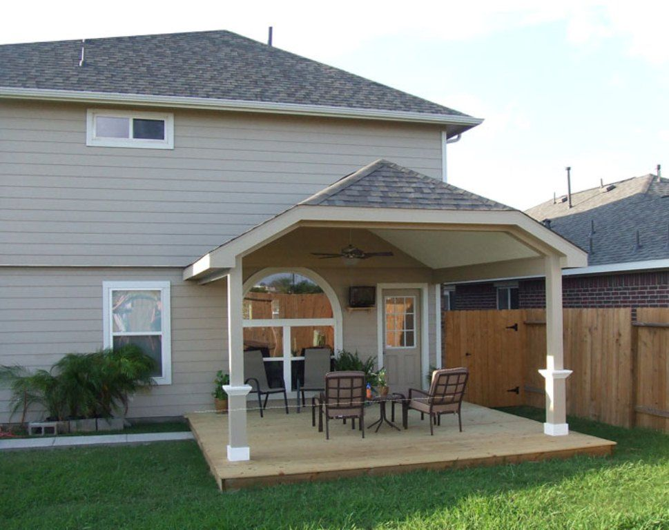 Covered deck pictures pictures photos images deck for Patio porch designs