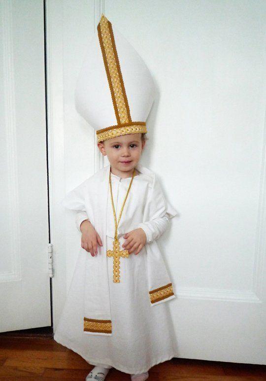 Pope costume  sc 1 st  Pinterest & Costumes: Religious | Pinterest | Pope costume and Costumes