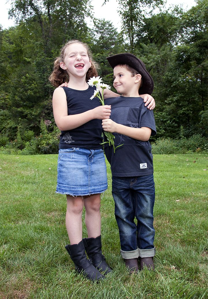 BOYS?! GROSS! Win her heart in Durango harness boots for kids. Adorably tough and cool.