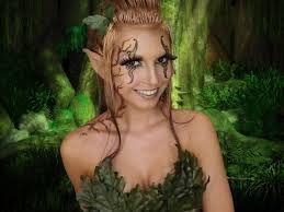 Resultado de imagen de ninfa del bosque disfraz