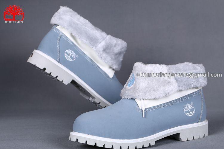 Baby blue timberland boots, Timberland