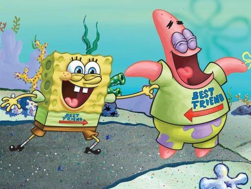 Spongebob & Patrick are BFF's! Spongebob, Spongebob