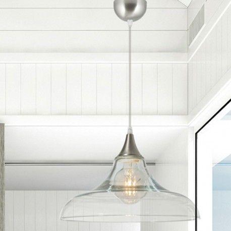 techo de Reilly Lámpara transparente de Serie cristal rdoWBxeC